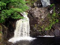 Water Fall in Scotland